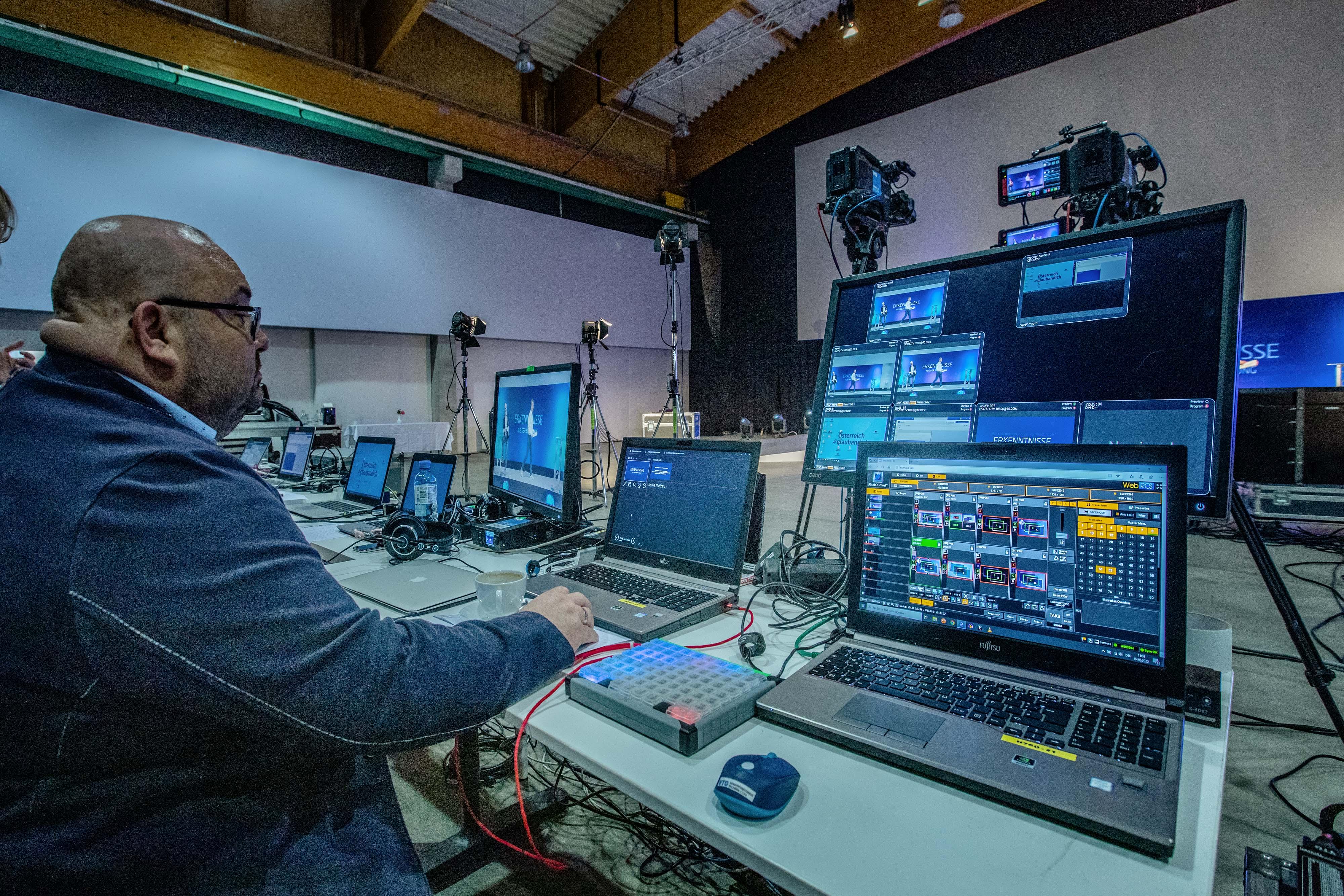 Streaming Studio Regie